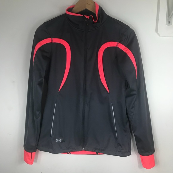 Under Armour Jackets & Blazers - UNDER ARMOUR   Coldgear Semi Fitted Jacket Runners